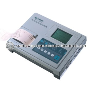Three Channel Interpretive ECG Machine