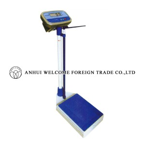 AH456 Digital Weight Scale with Height Gauge Model sh-8106 (150KGS)