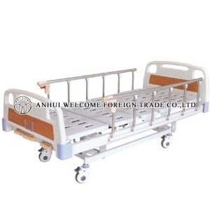 AH711 ABS Three-crank Manual Bed