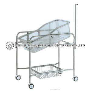 AH745 Stainless Steel Baby Cart