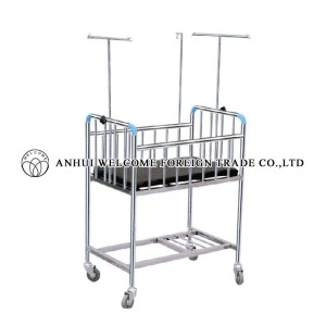 AH752 Stainless Steel Baby Cart