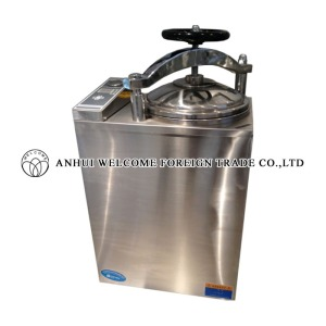 Electric-heated Vertical Steam Sterilizer, Fully Automatic Microcomputer, LS-B75L-II