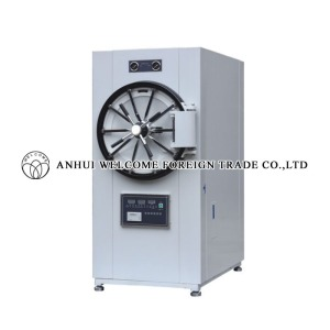 Horizontal Cylindrical Pressure Steam Sterilizer, microcomputer control, WS-280YDB