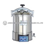 Portable Pressure Steam Sterilizer, new type, YX-18HDJ