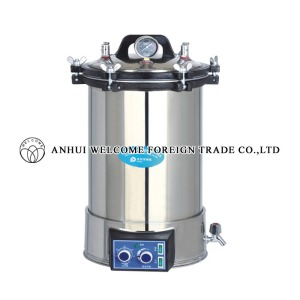 Portable Pressure Steam Sterilizer, YX-18LDJ