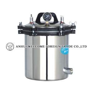 Portable Pressure Steam Sterilizer, YX-18LM