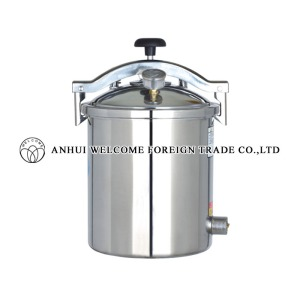Portable Pressure Steam Sterilizer, electric or LPG heated, new type, YX-HM